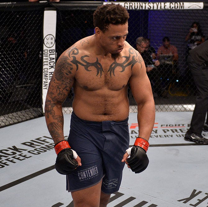 Island Fights 51 won't have Greg Hardy after UFC bout announced