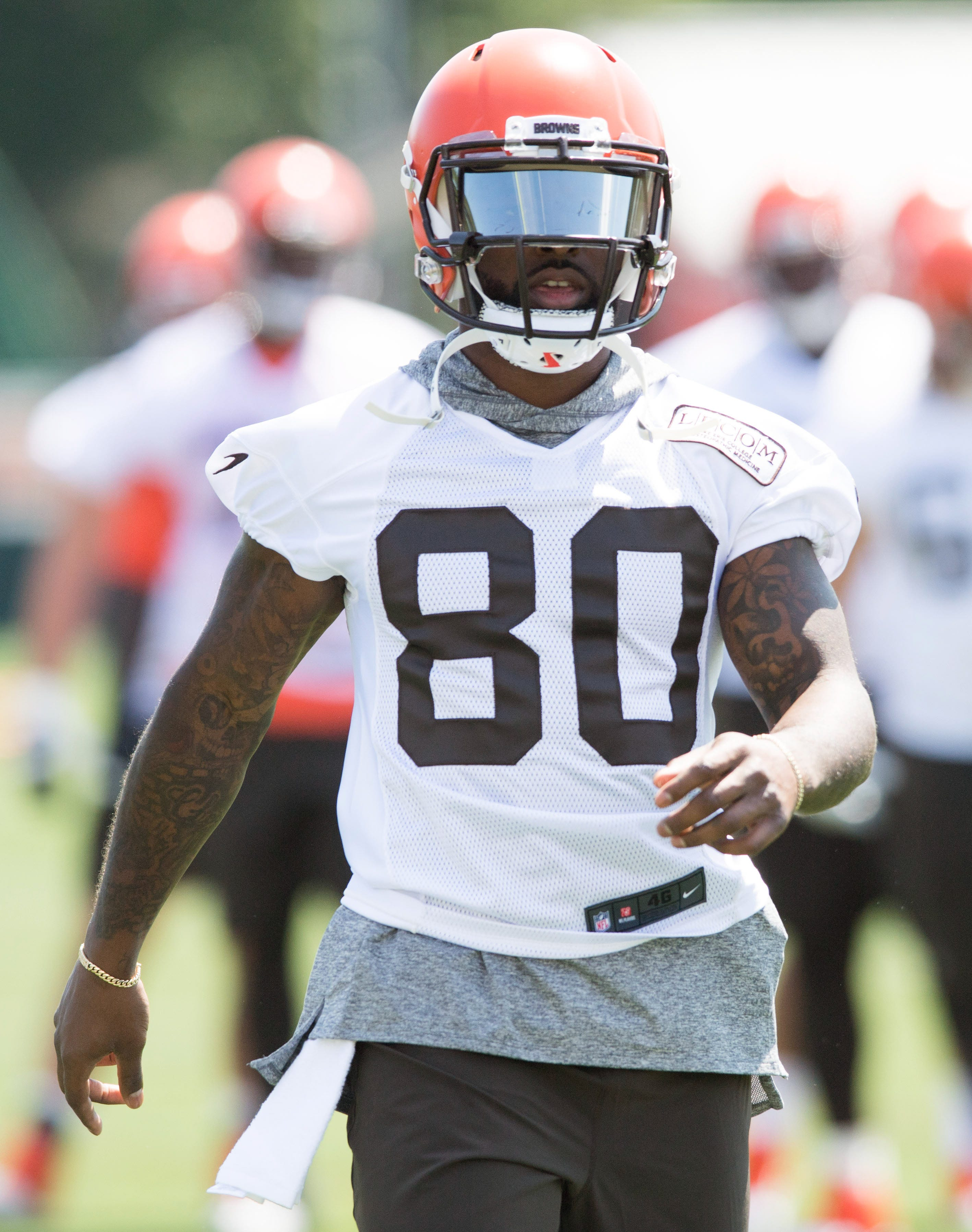 Jarvis Landry delivers epic speech in season premiere of HBO's 'Hard Knocks' with Browns