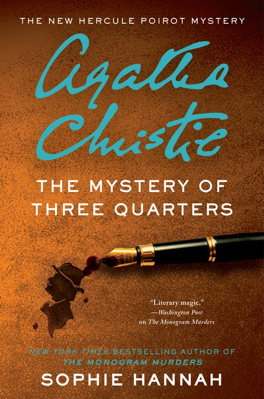Mystery Of Three Quarters Hc