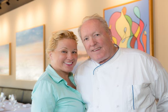 Dennis Foy and his wife and business partner, Estella Quiñones-Foy, have opened Cafe Loret in Red Bank.