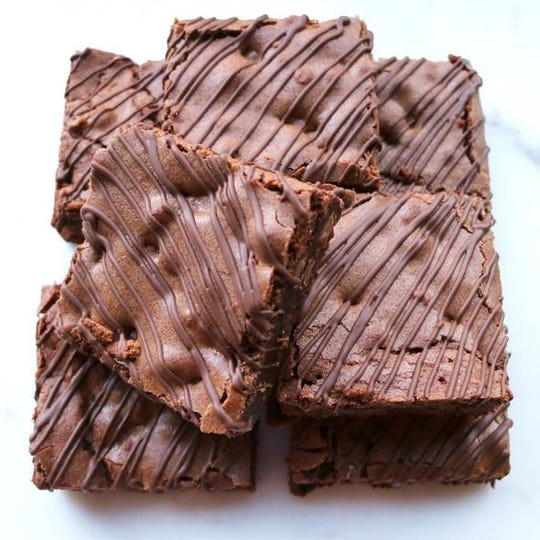 Nut-free brownies from Liv Nut Free, which will open Sept. 15 in Shrewsbury.