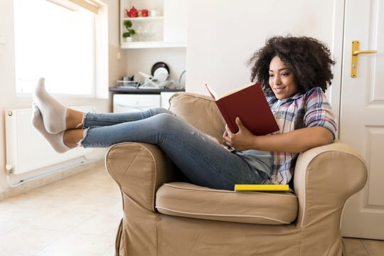 Take the time to enrich your life, read a book on health and wellness.