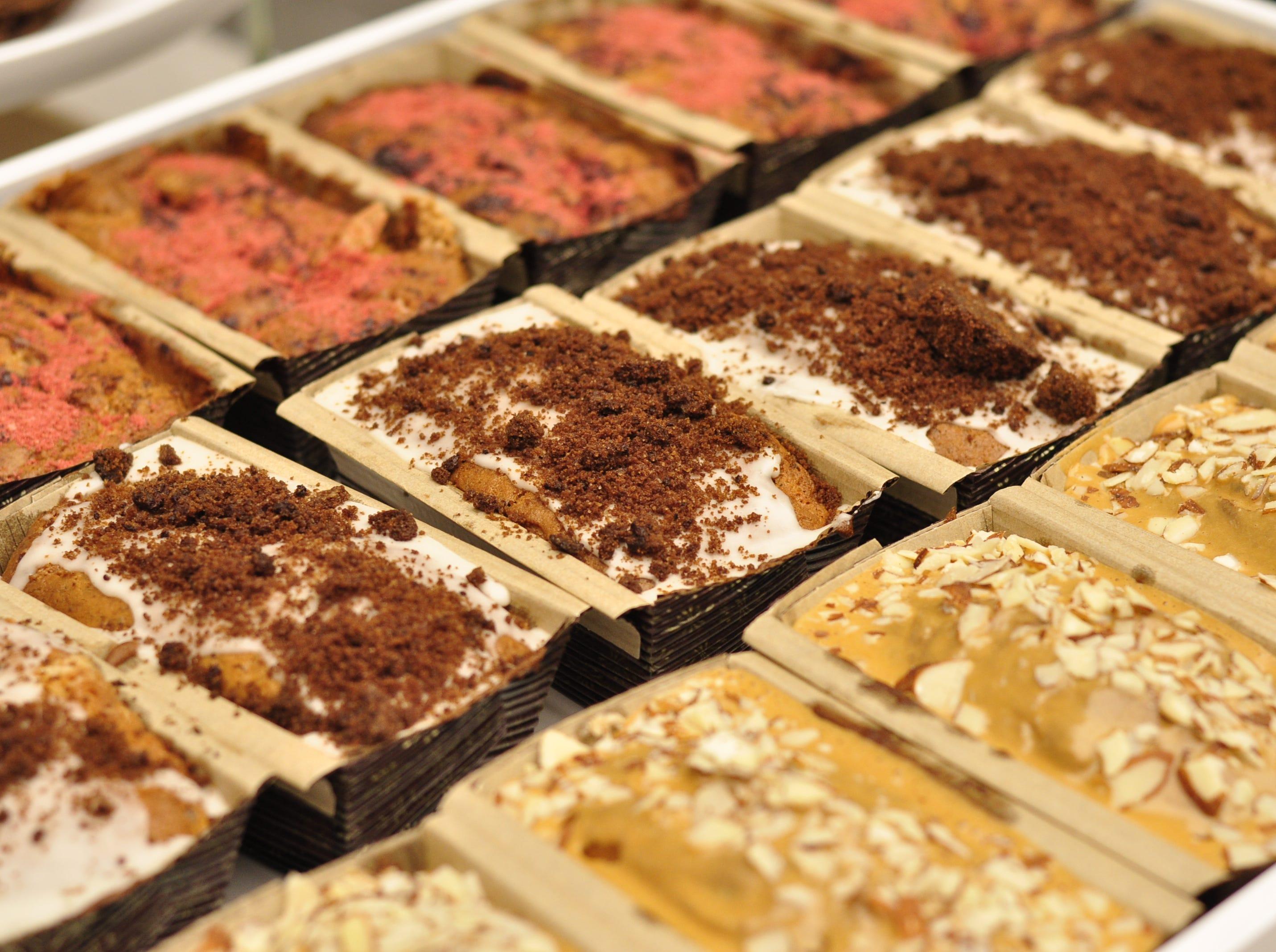 Poundcakes from Honeybell Bakery at Bell Market in Holmdel.