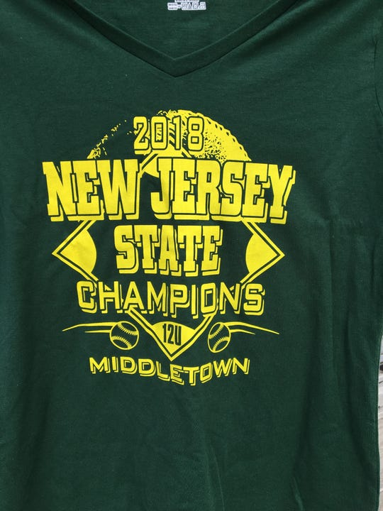 "Here is the front of the ""Green Machine"" T-Shirts for Middletown Little League"