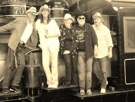 The MissyG Band play from noon-1:30 p.m. Sept. 2.