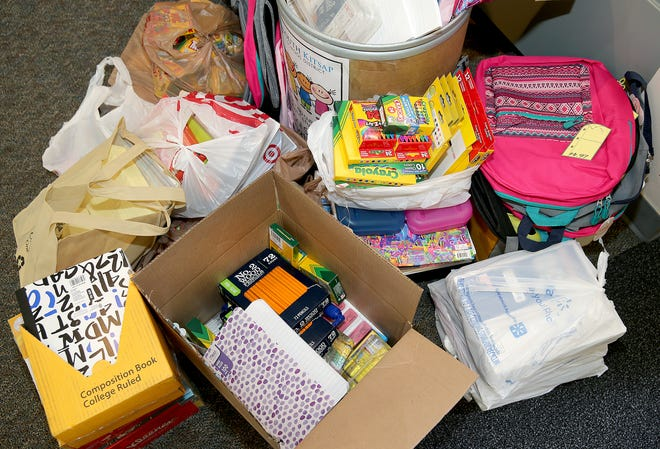 South Kitsap School district is providing basic school supplies to all K-3 students at no cost to families. Supplies like donated backpacks are distributed based on family need. Superintendent Karst Brandsma said the district wants to eliminate barriers for families and hopes to expand the initiative to other grades in the future.