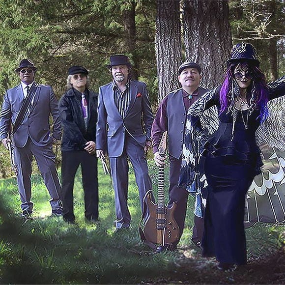 The Mad Hatters are on stage from 1:30-3 p.m. Sept. 3.