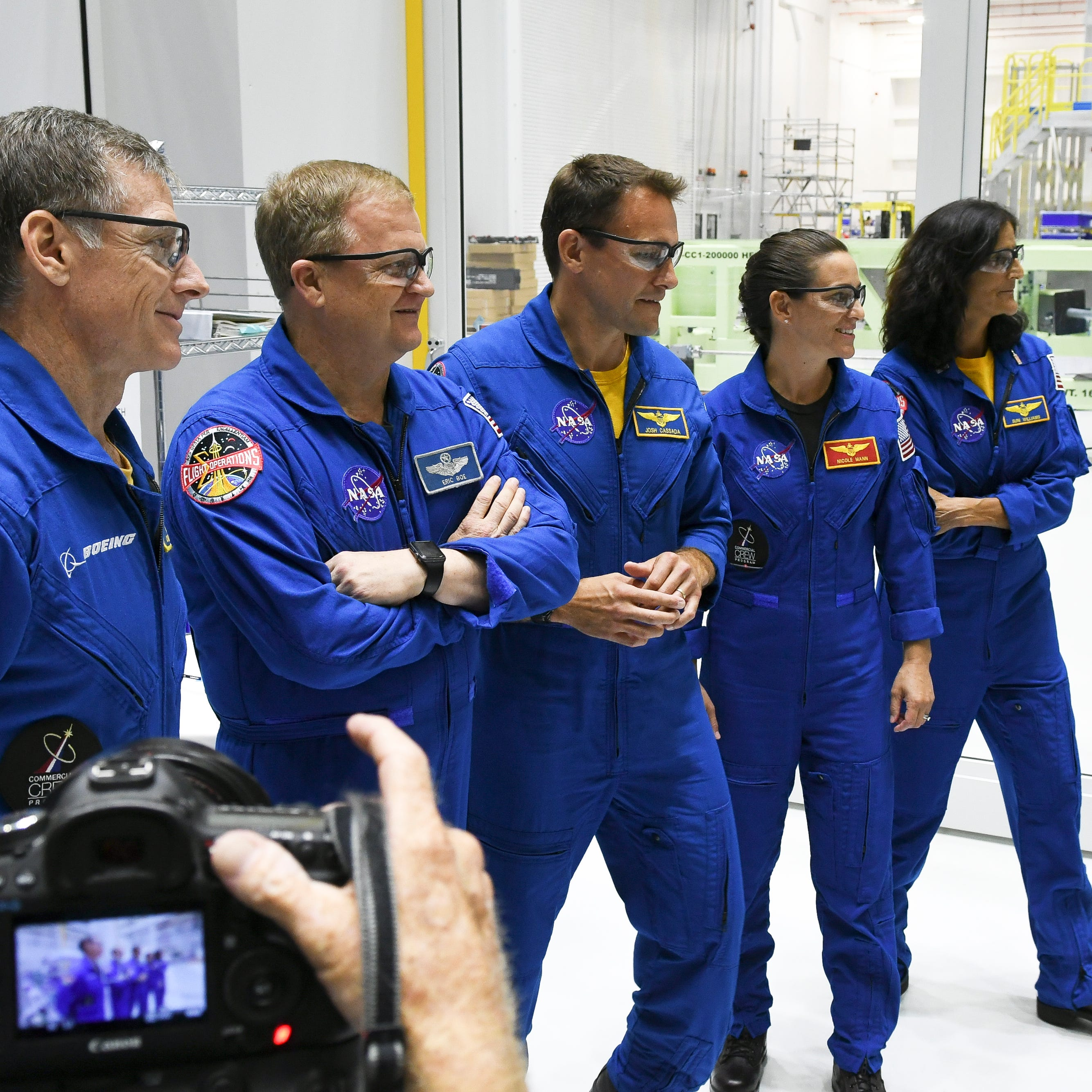 Boeing Starliner astronauts make first official visit to Kennedy Space Center