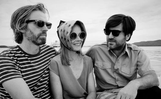Chris Ziter, Sasha Bell and Jeff Baron of The Essex Green.