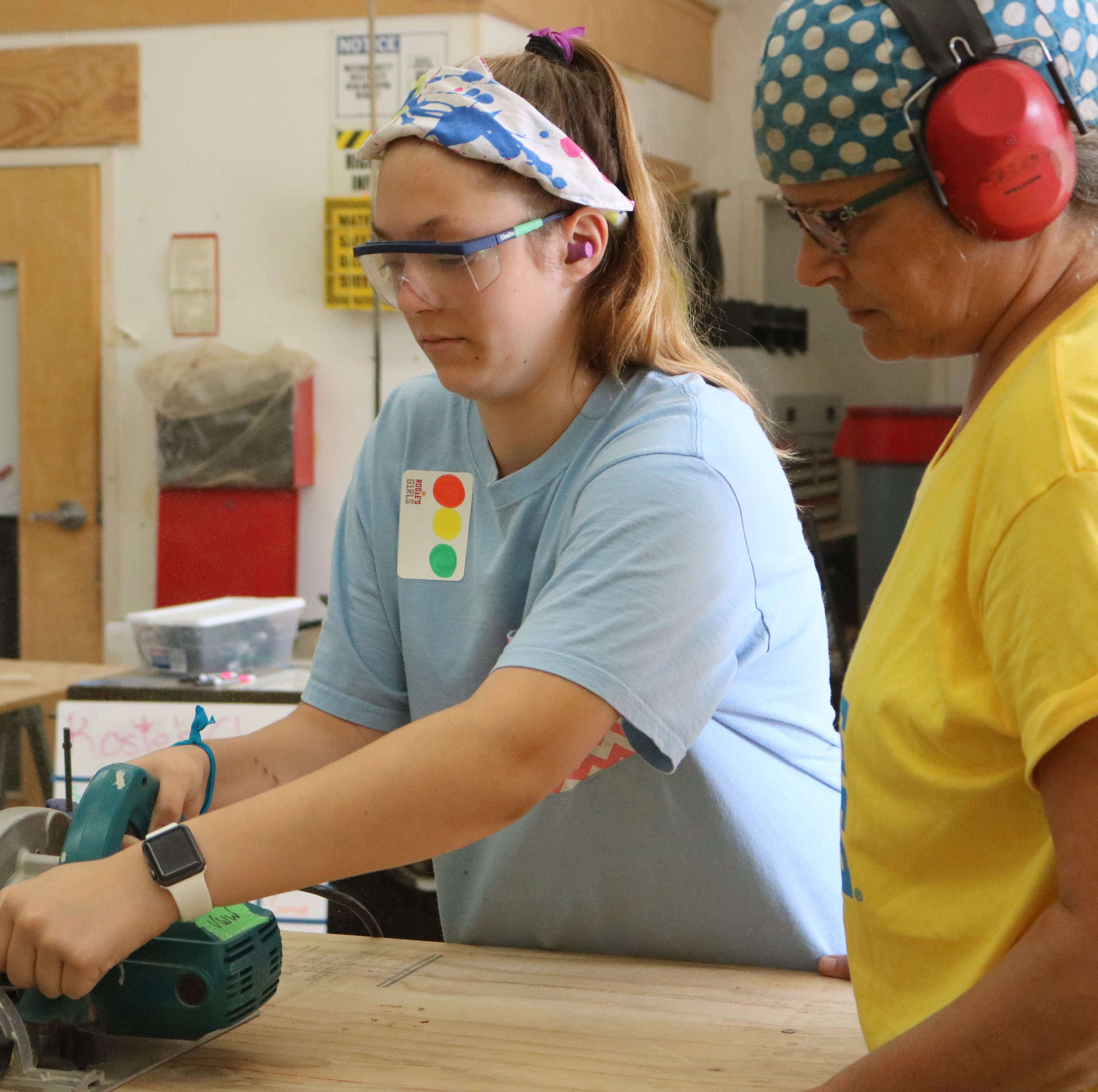 Grit and power tools drive better financial futures for Vermont girls