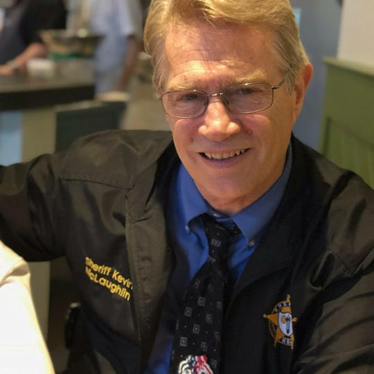 Chittenden County Sheriff Kevin McLaughlin is running to be re-elected.