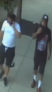 """Investigators are seeking these """"persons of interest"""" in connection with Tuesday's ambush-style shooting attack on two Camden County police detectives."""