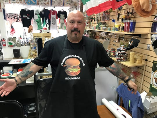 Tony Luke Jr. was inspired to create the round hot dog after his son Mike had to run out for more hot dog buns at a barbecue.