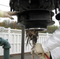 """Workers are shown clearing """"flushable"""" wipes from three clogged pumps at a Larchmont pump station."""
