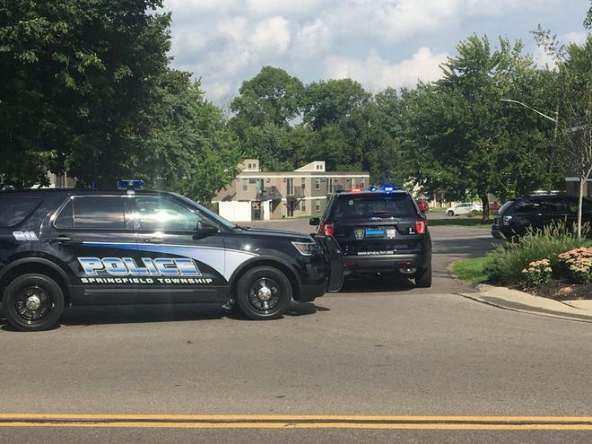 Authorities gathered along the 7700 block of Clovernook Avenue throughout the afternoon, according to nearby residents.