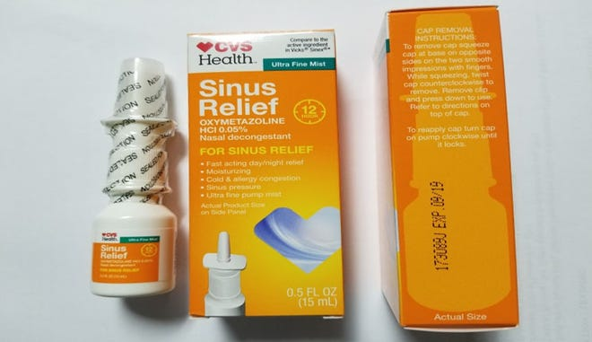 CVS Health 12 Hour Sinus Relief Nasal Mist