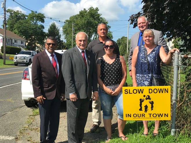 Township, a Middlesex County traffic official and residents talked about traffic enforcement initiatives in the Cliffwood Beach section of Old Bridge.