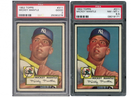 Vintage Breaks makes history in baseball card collecting thanks to Mickey Mantle
