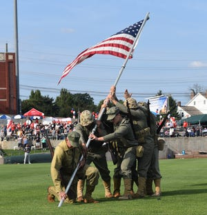 """For 16 years, the Somerset Patriots honorveterans and current military members with """"Veterans of America Day"""" at a game dedicated to their service. This year the Patriots,along with the Vietnam Veterans of America Chapter 452, haveset asideAug. 19 for""""Veterans of America Day."""" All veterans will receive complimentary admission to the game, while all family, friends, and other guests of veterans will receive $5upper box tickets."""