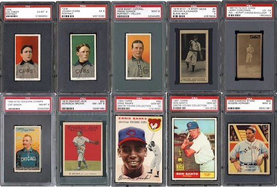 The small business, Vintage Breaks, makes history in baseball card collecting