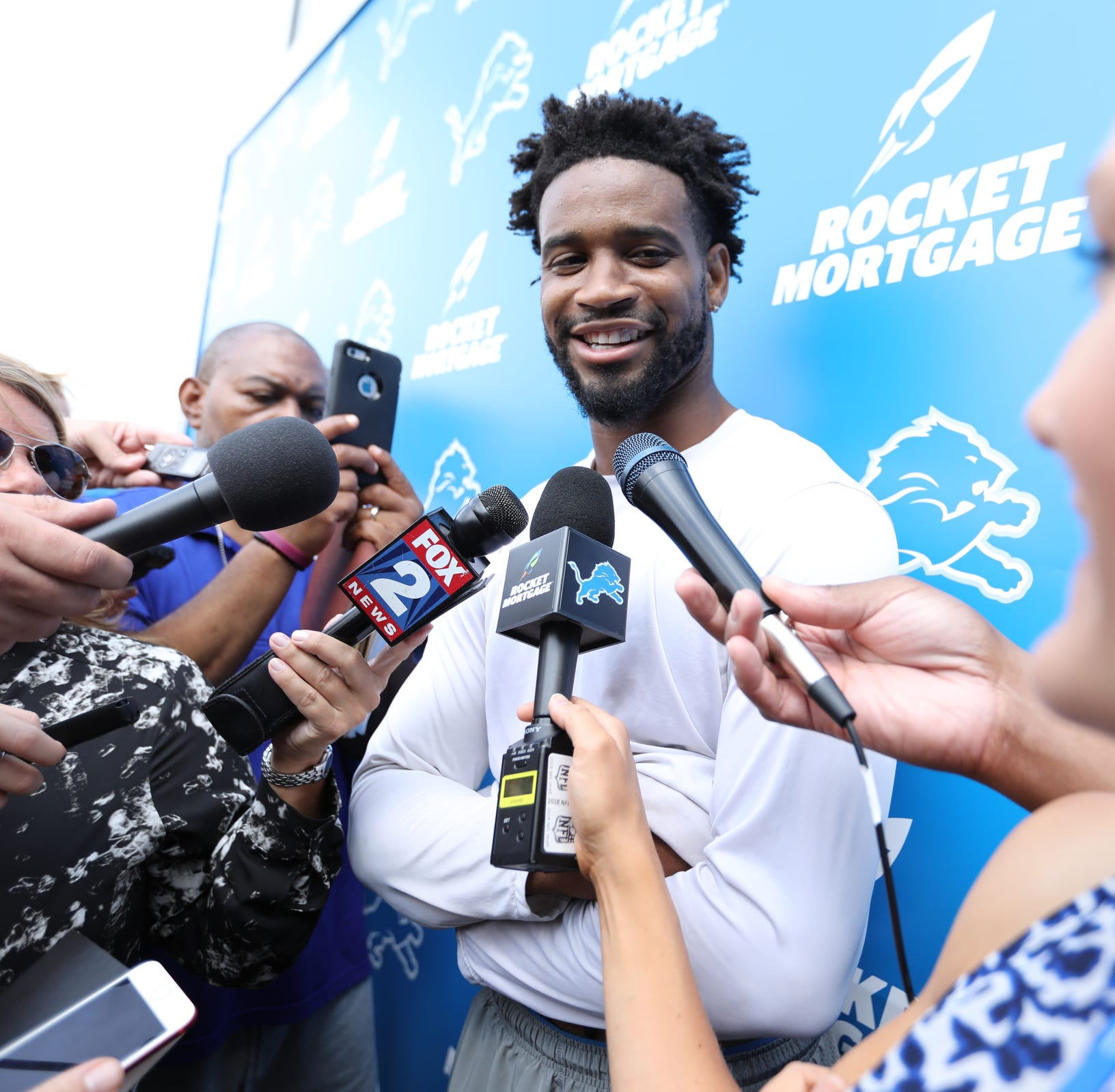 Darius Slay active, Ziggy Ansah out for Lions; Pats' Josh Gordon out
