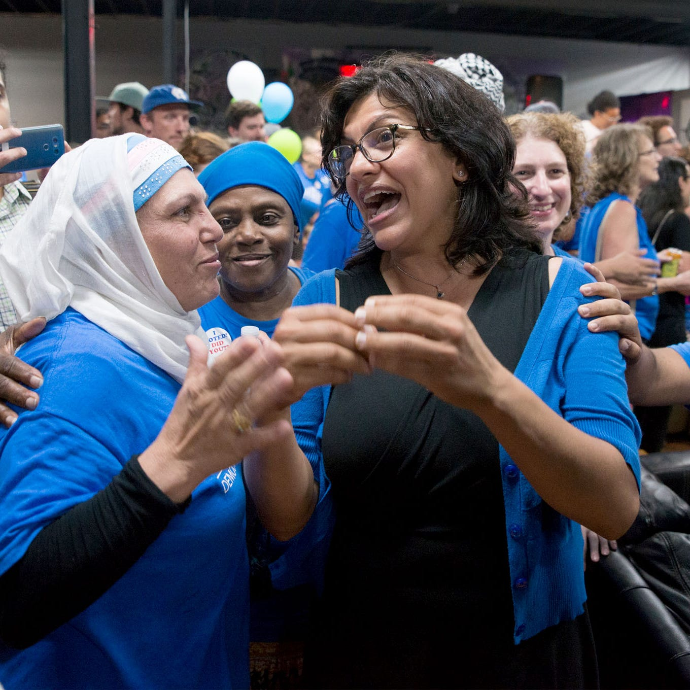 Rashida Tlaib 'probably not' going to support Nancy Pelosi as speaker