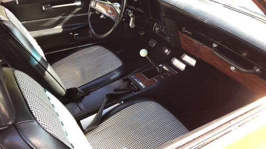 Interior 1969 Chevrolet Camaro SS convertible
