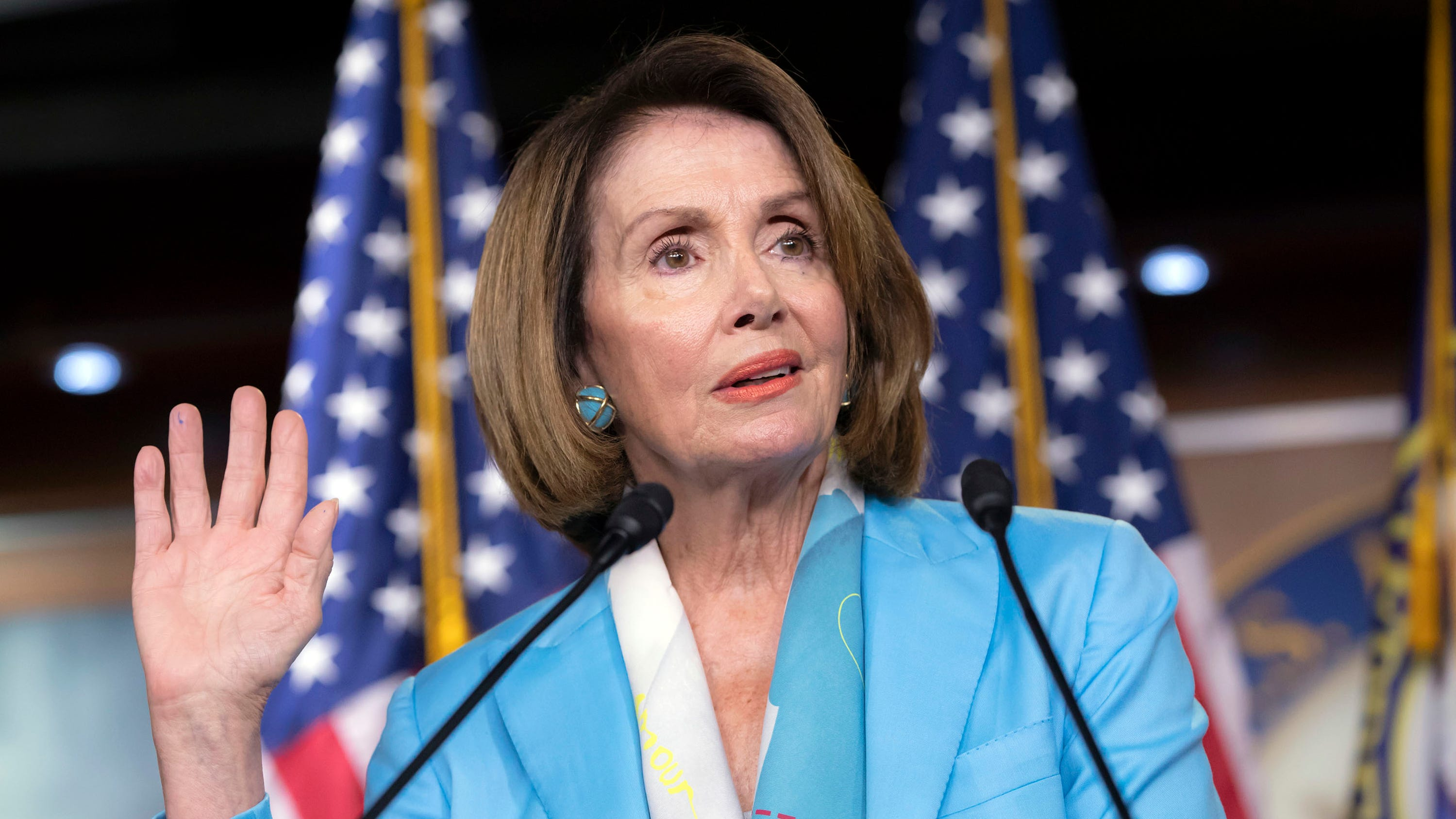 What would Trump and Republicans run on if they didn't have Pelosi? She should say she'll leave leadership in 2019, then campaign like heck for Democrats.