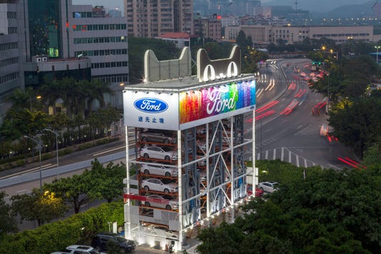 Car Vending Machine In Guangzhou China 01 Apr 2018