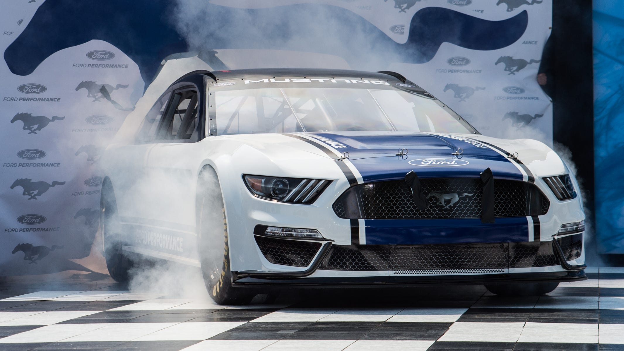 Ford Unveils Badass Mustang For 2019 Nascar Cup Series