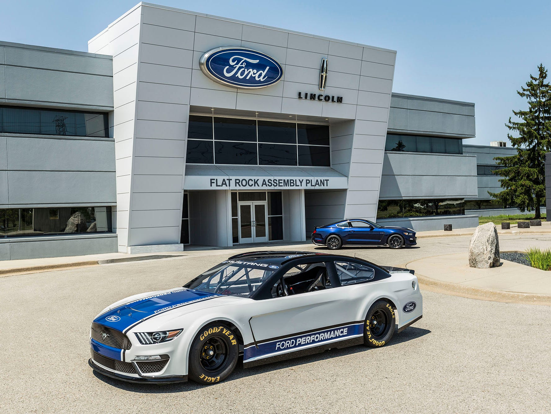 Today's reveal comes on the heels of a celebration of the 10 millionth Mustang off the assembly line in Flat Rock, Mich., on Wednesday.