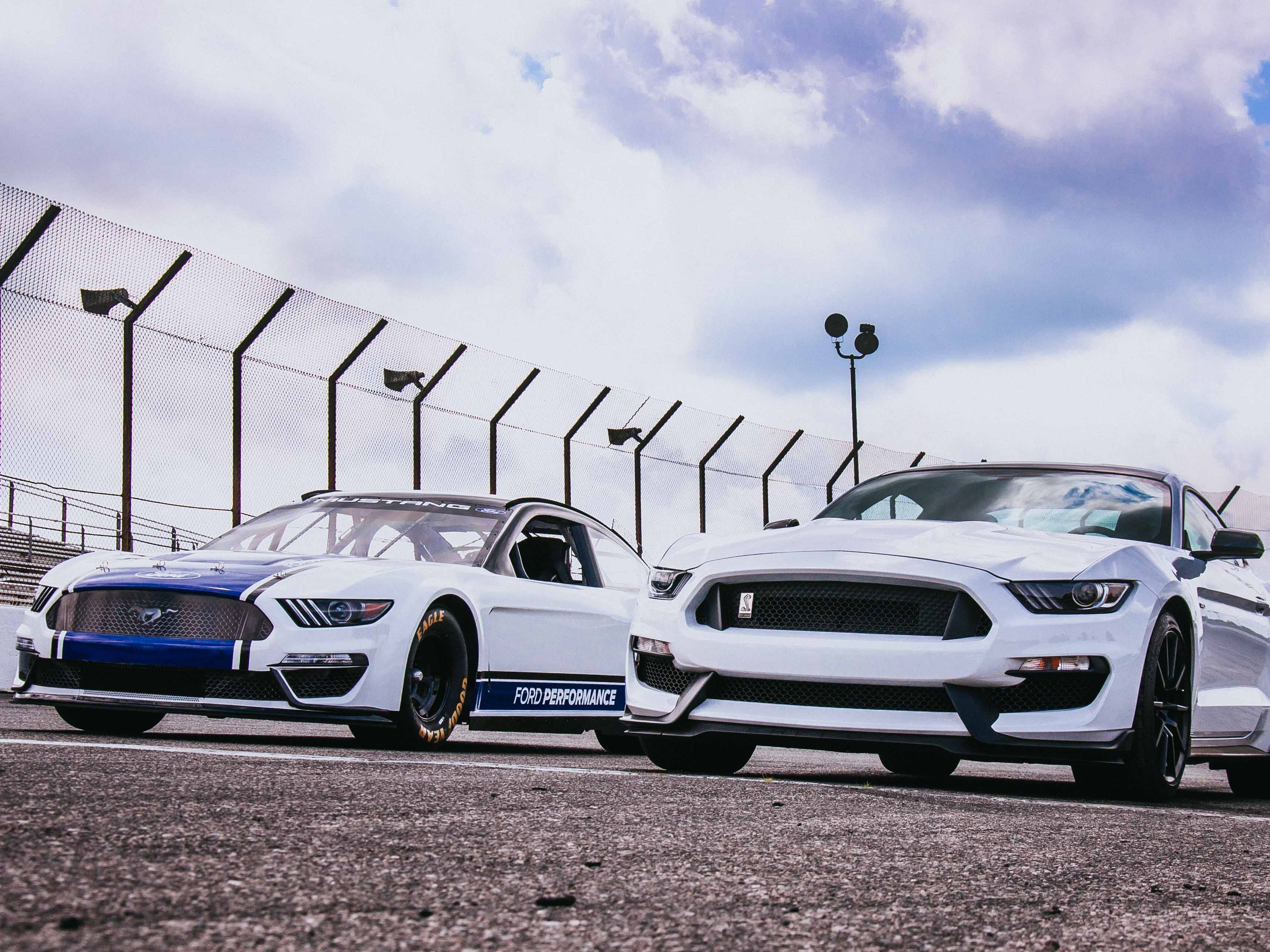 """Mark Rushbrook, global director, Ford Performance Motorsports says, """"We can't wait to see it winning races in the NASCAR Cup Series next year."""""""