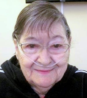 Doris Robertson is a resident at the Corning Center for Rehabilitation and Healthcare in Corning.