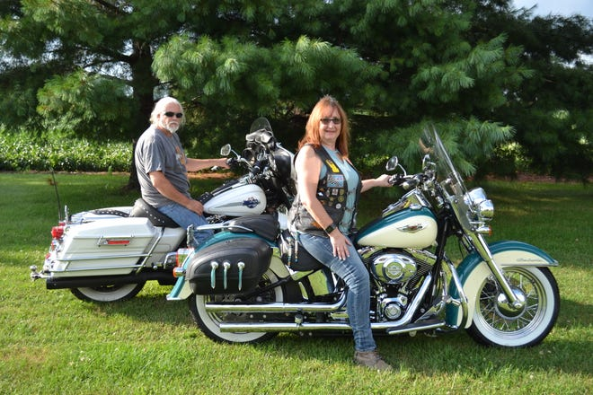 Randy and Cindi Noss will head BADD Fest, a motorcycle show and festival geared toward spreading the word on available local resources on opioid addiction, at New Hope Vineyard Church. Cindi is president of Heaven on Wheels motorcycle club, which is hosting the event. Randy will be the festival's MC.