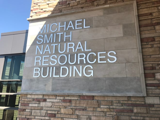 The Michael Smith Natural Resources building got its last update in the 1970s.