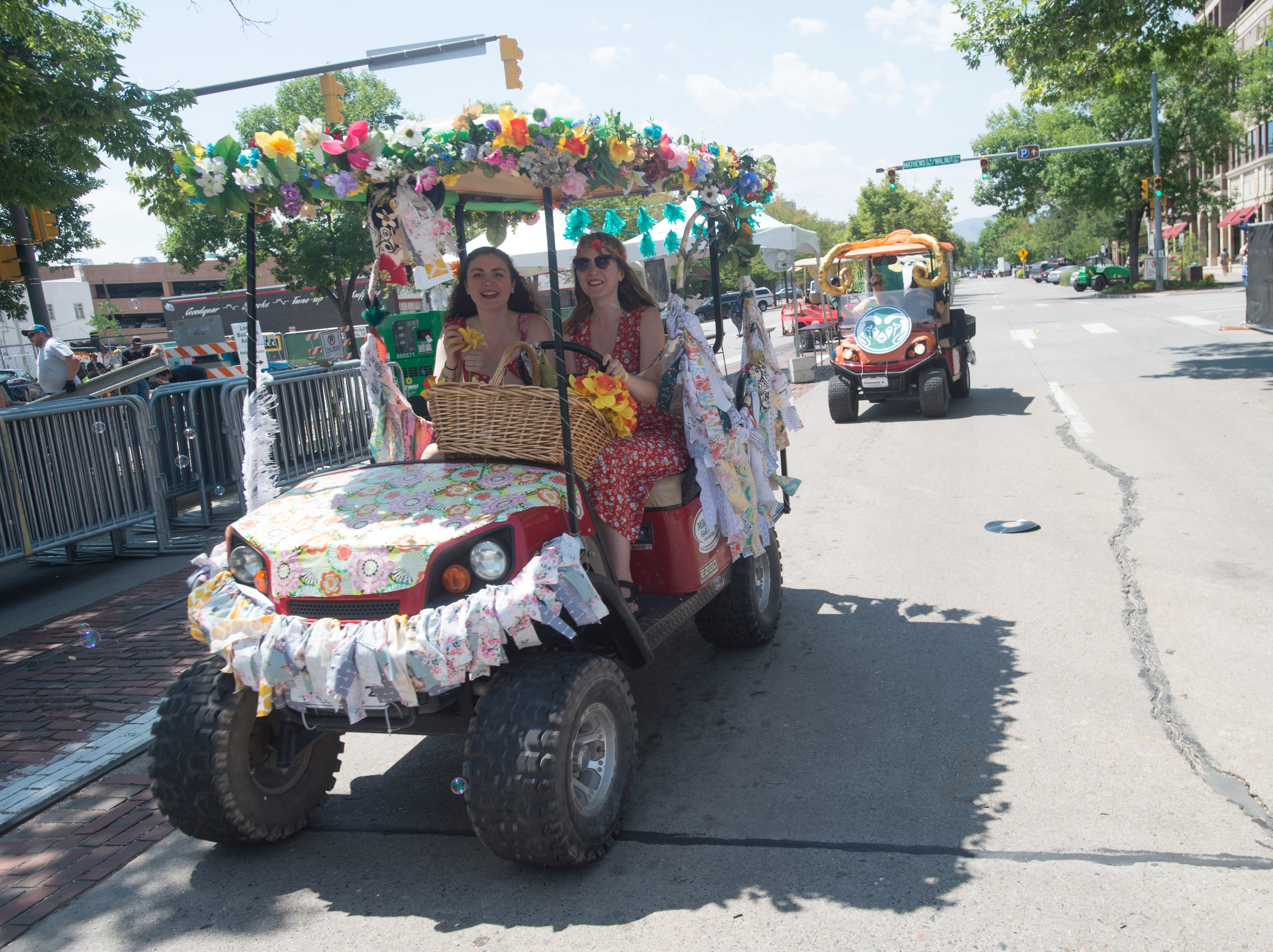 Golf Cart 2: Vote for your favorite NewWestFest decorated golf cart.