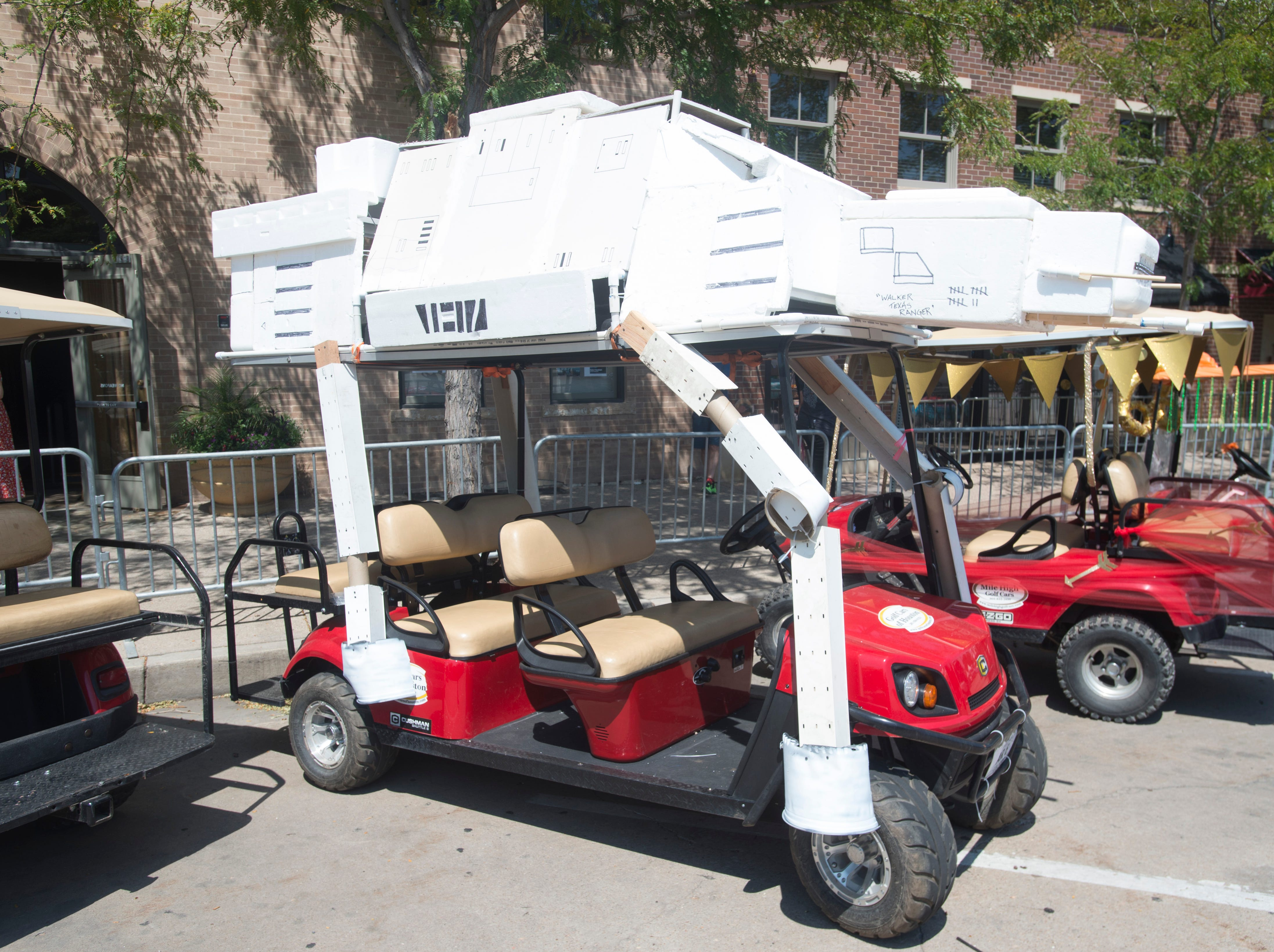 Golf Cart 7: Vote for your favorite NewWestFest decorated golf cart.