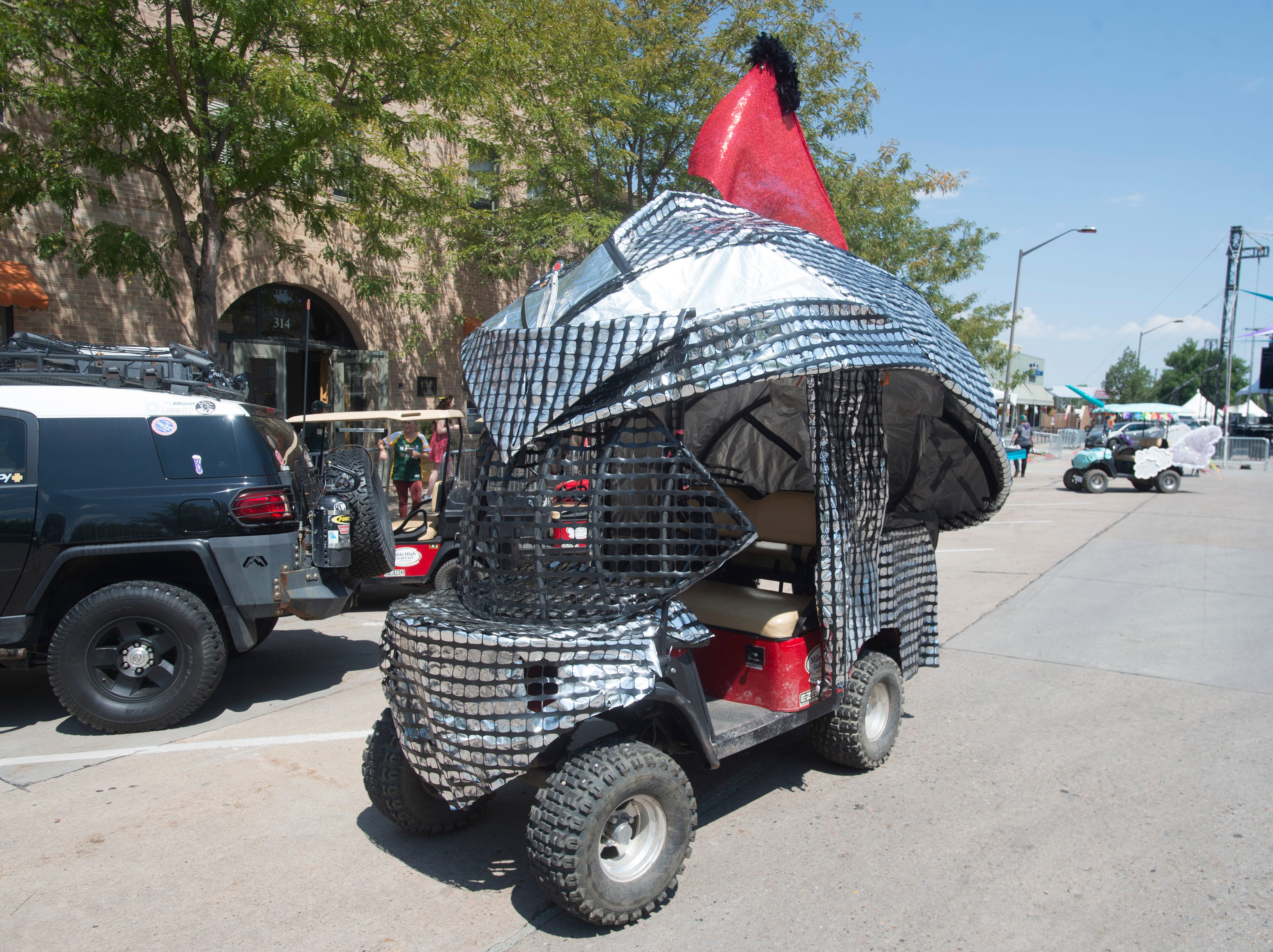 Golf Cart 8: Vote for your favorite NewWestFest decorated golf cart.