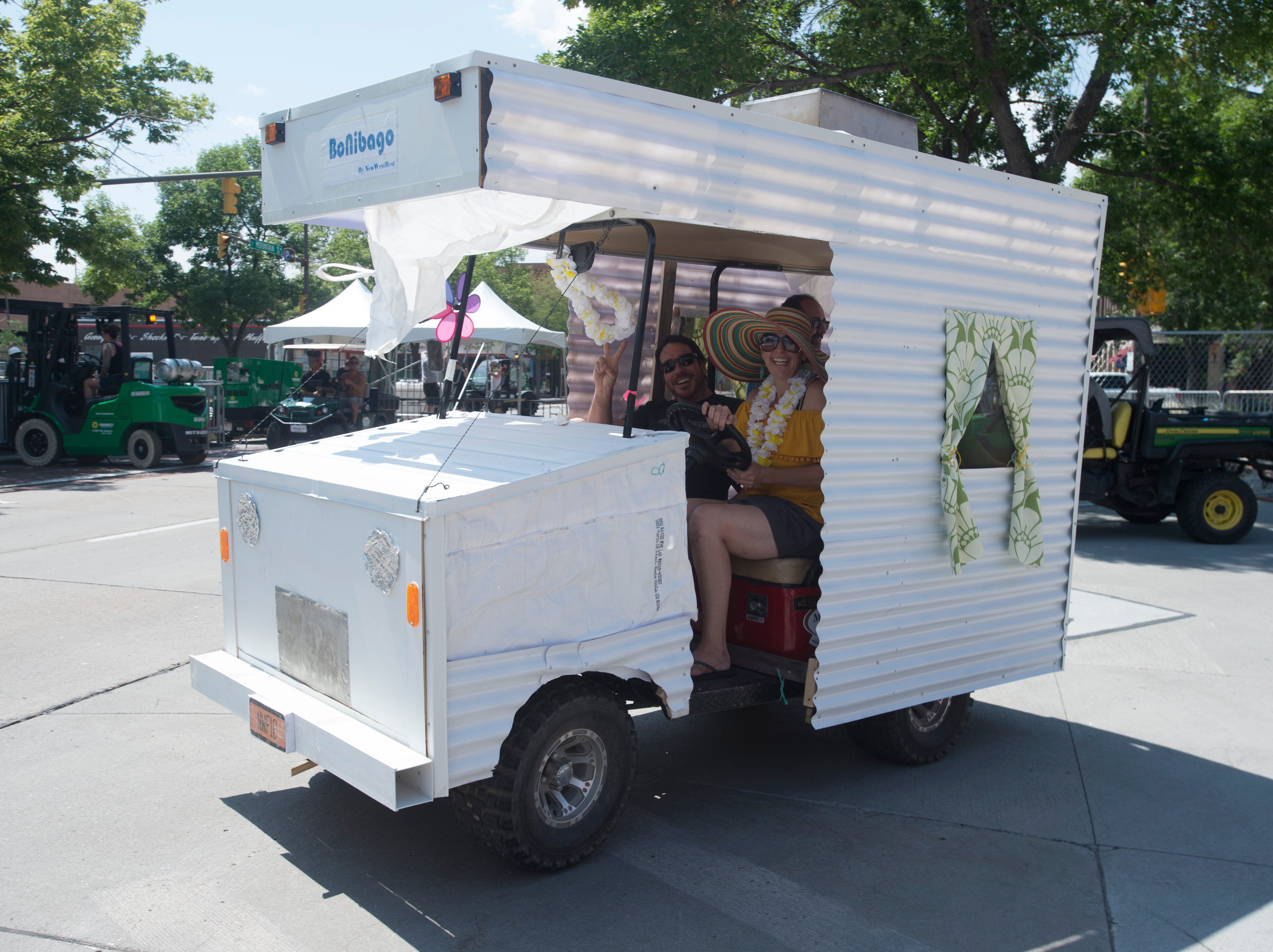 Golf Cart 5: Vote for your favorite NewWestFest decorated golf cart.