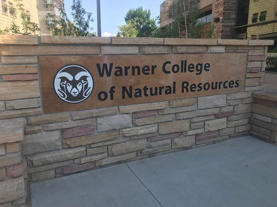 Construction began at Michael Smith Natural Resources building at the Warner College of Natural Resources in 2017. The construction will wrap up next week.