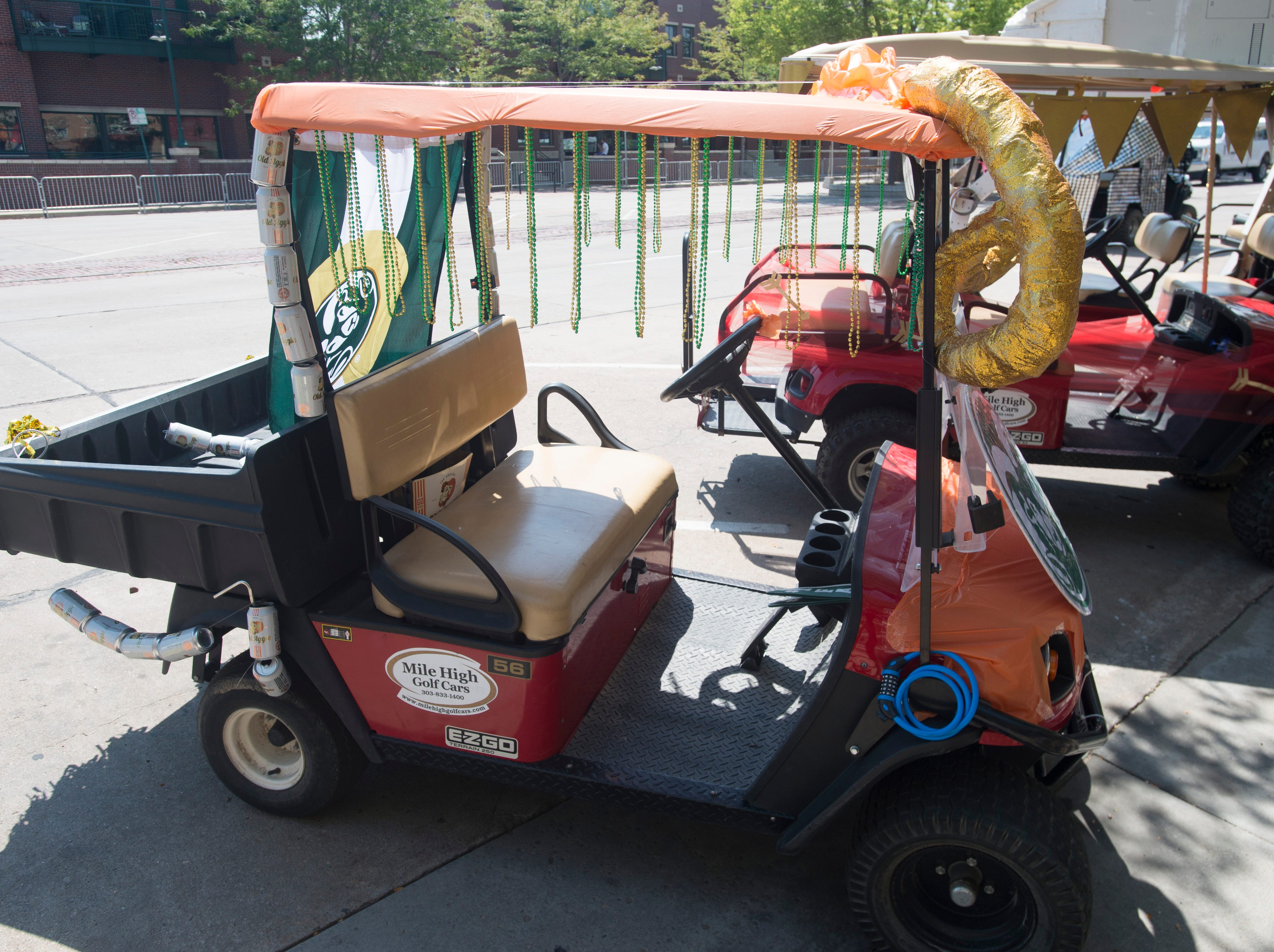 Golf Cart 10: Vote for your favorite NewWestFest decorated golf cart.