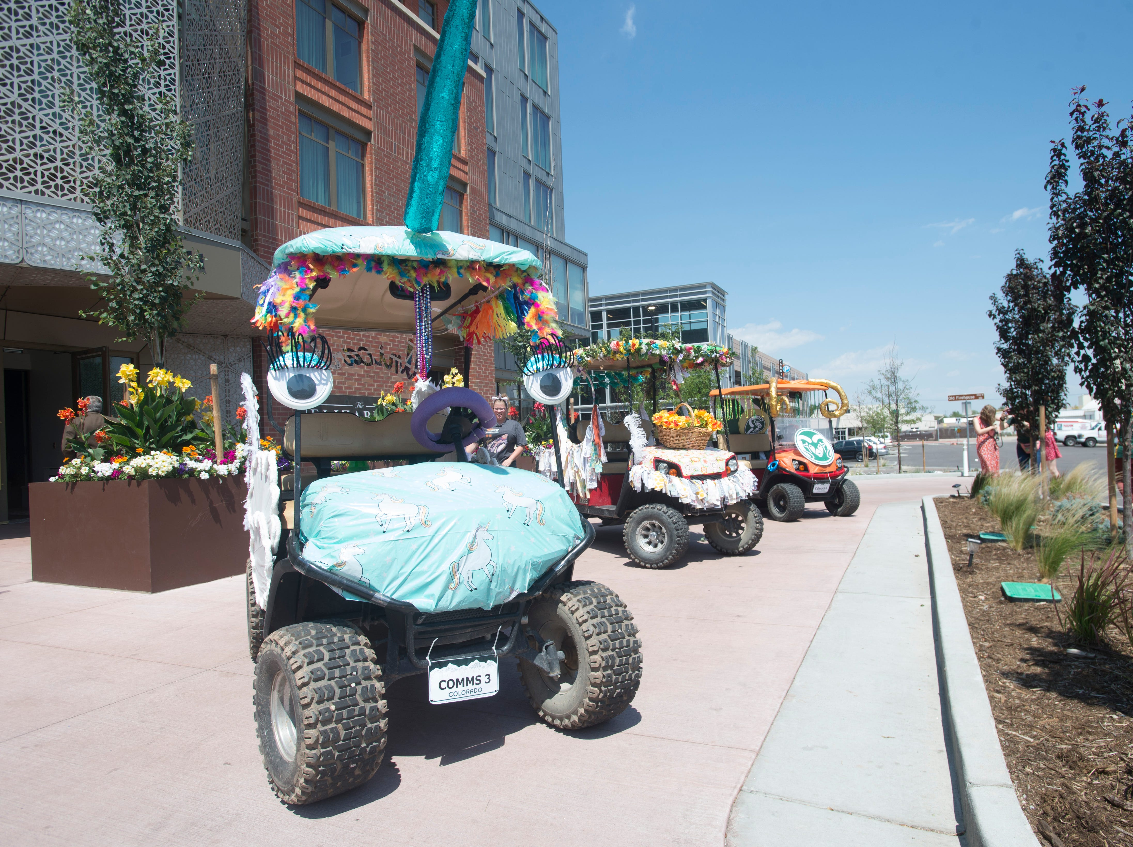 Golf Cart 1: Vote for your favorite NewWestFest decorated golf cart.