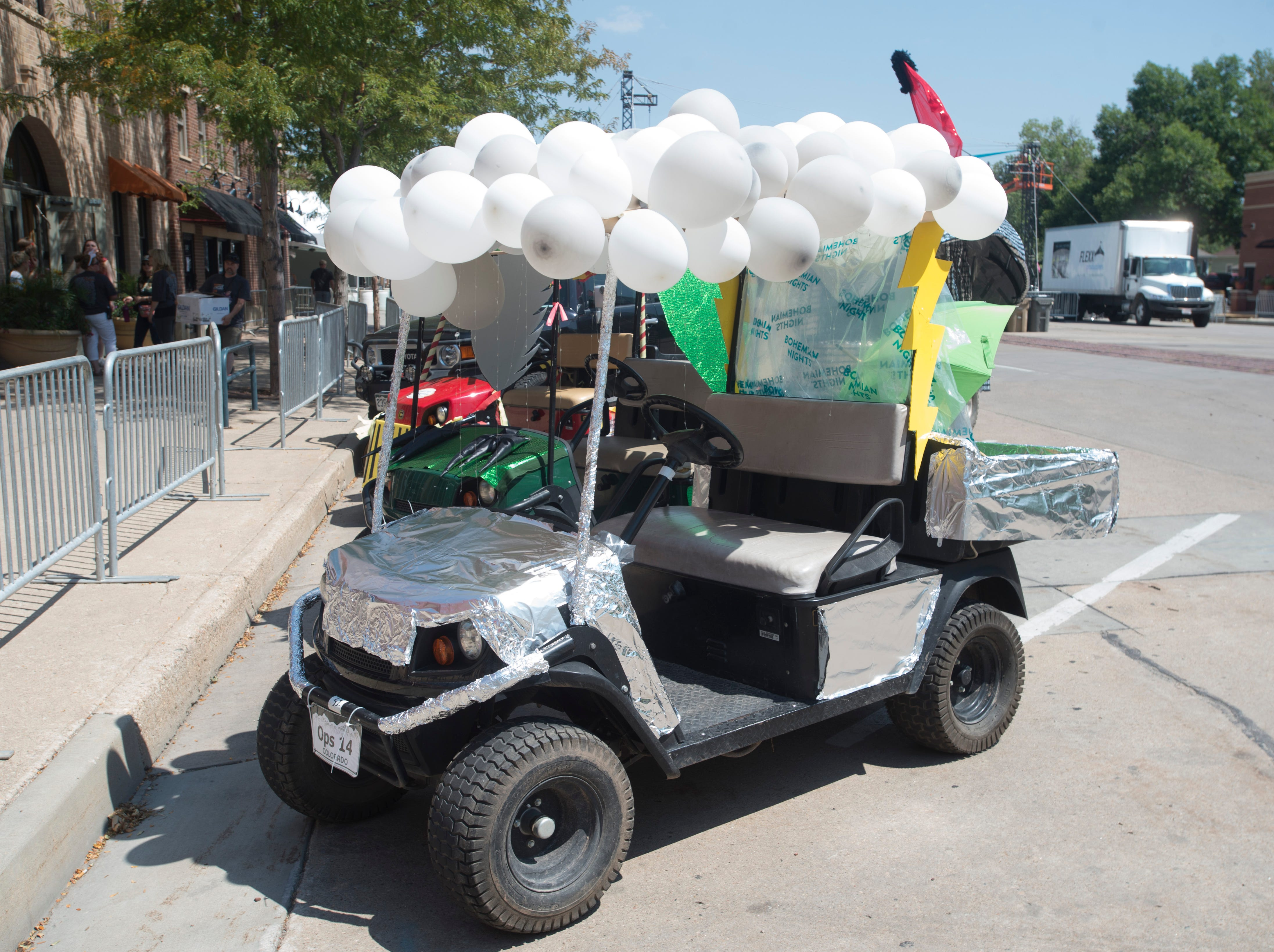 Golf Cart 3: Vote for your favorite NewWestFest decorated golf cart.