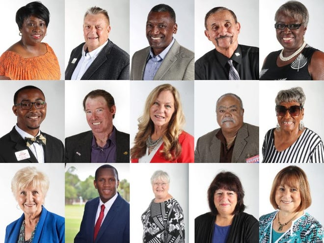 Fifteen candidates are running for seats on the Lee County school board.