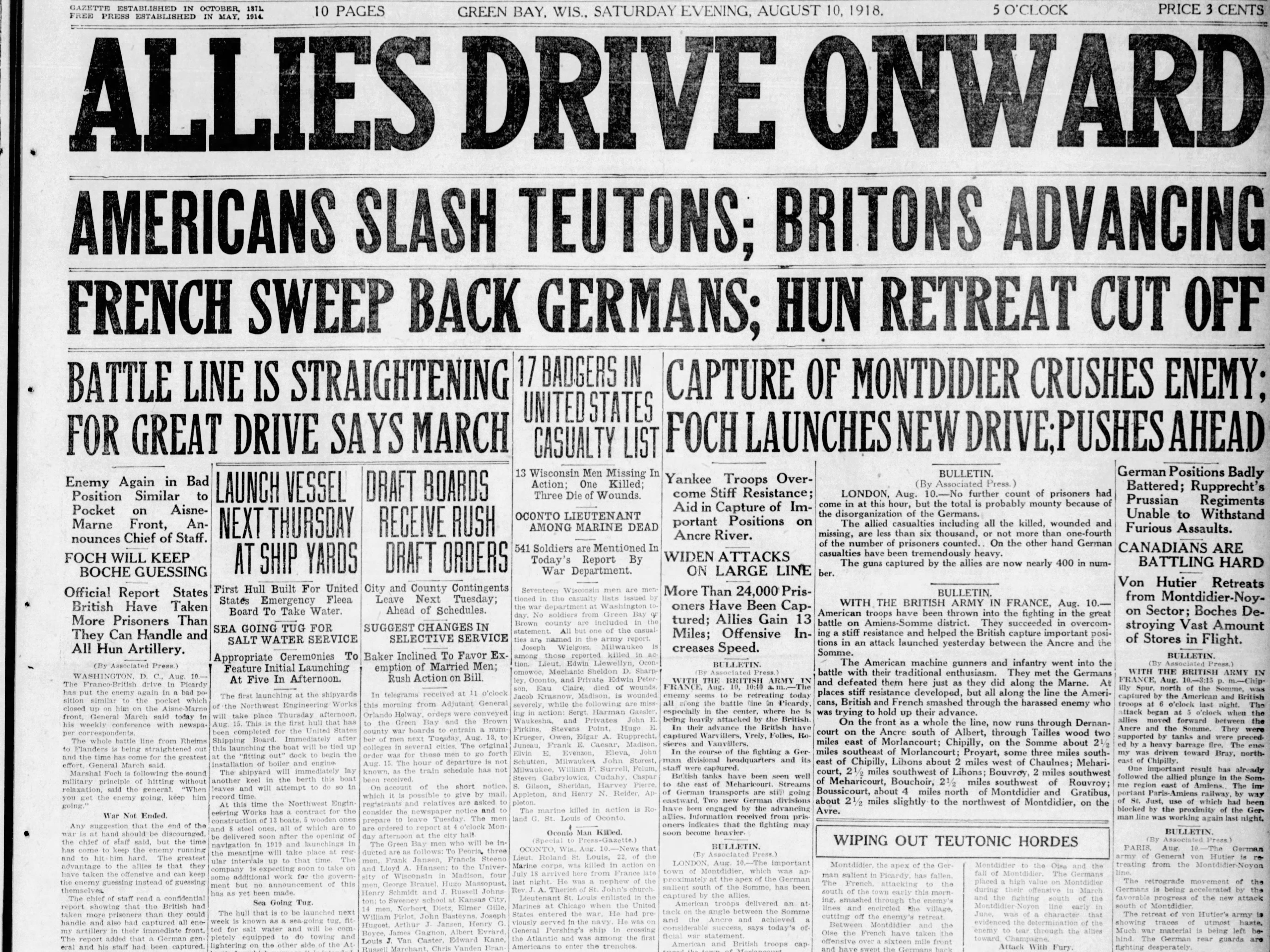 Aug. 10, 1918
