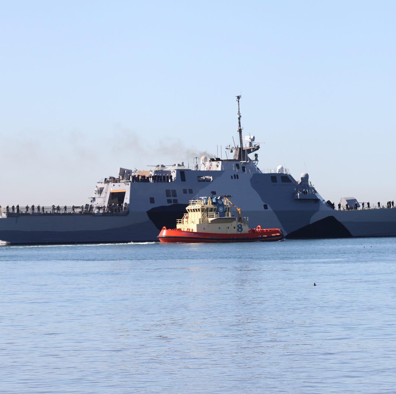 USS Cooperstown construction gets underway as Congress funds LCS program