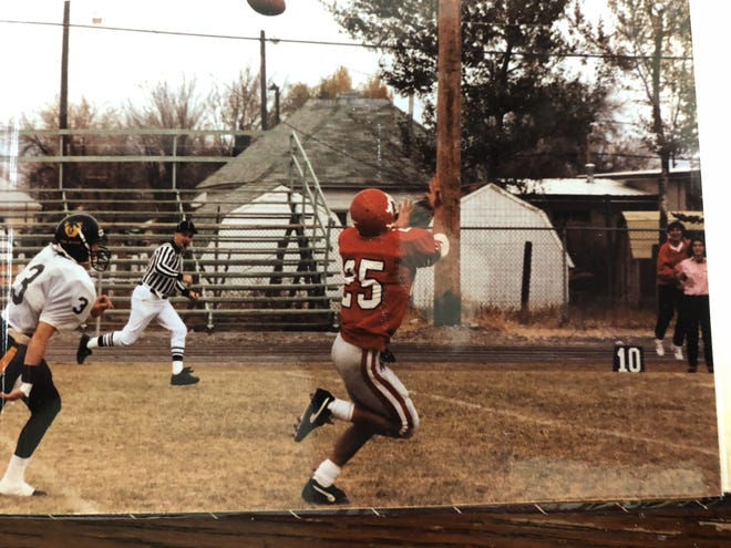 Belt's Manny Garza was a tremendous receiver at Montana Western.