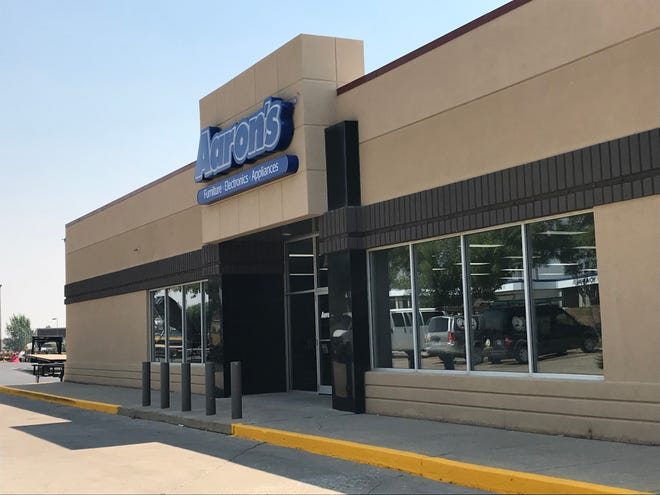 Aaron's Furniture, Electronics and Appliances has moved from the west side of Great Falls to 10th Avenue South.