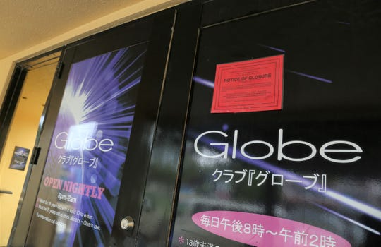 Globe in Tumon shutdown after a roach complaint.