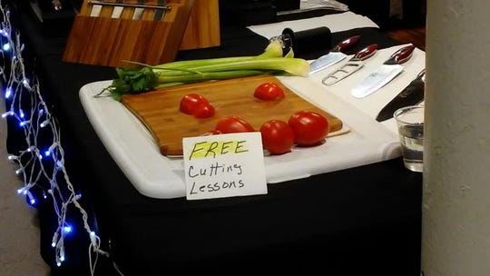 You can get a free cutting lesson at the 2018 Indiana State Fair.